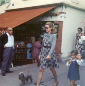 Pudel Geschichte: Grace Kelly 1969